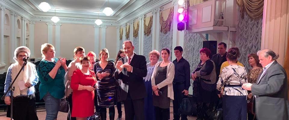 Святослав Ещенко и поклонники