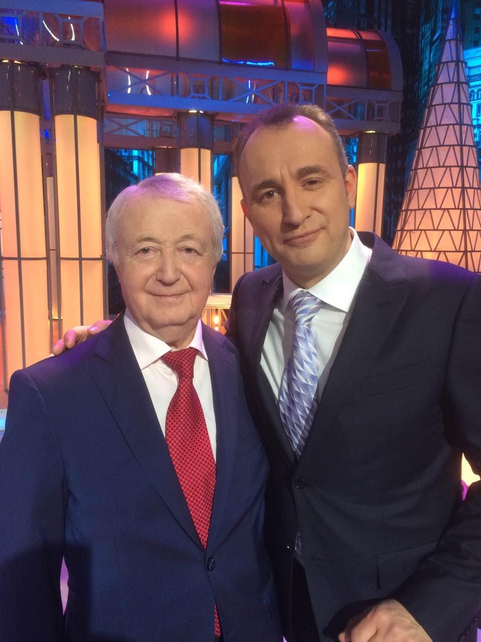 Лион Измайлов и Святослав Ещенко